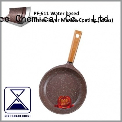 Sinograce Chemical non stick cookware coating for sale for cooking