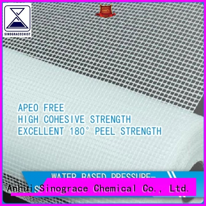 water based leather glue binder for textile Sinograce Chemical