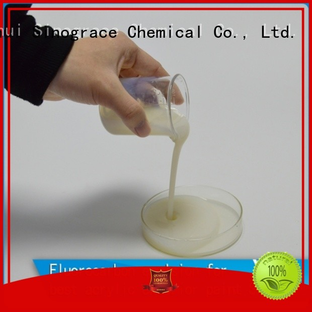 Sinograce Chemical eco-friendly styrene acrylic emulsion polymerization suppliers for wall