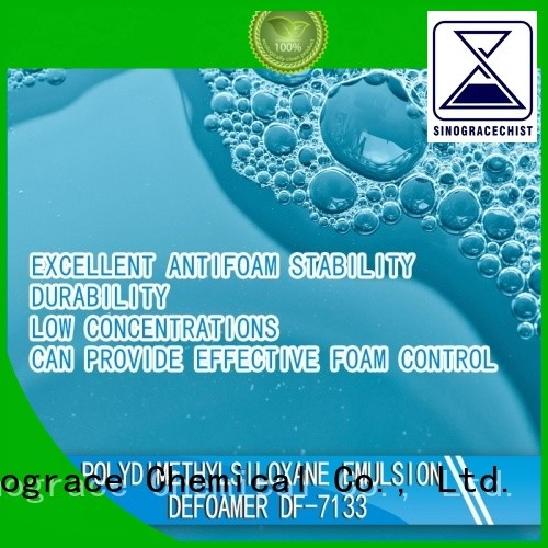 Sinograce Chemical eco-friendly silicone antifoam for sale for chemical