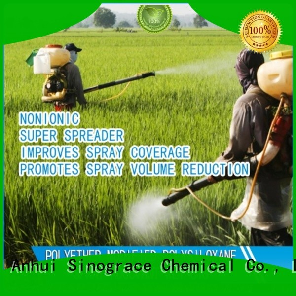 Sinograce Chemical agricultural soil wetting agent for lawn supplier for material