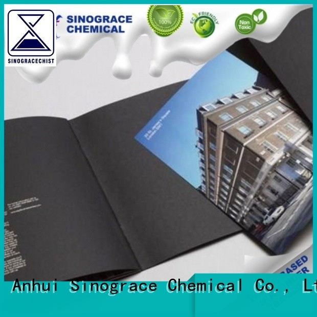 Sinograce Chemical best water based white paint for sale for tape