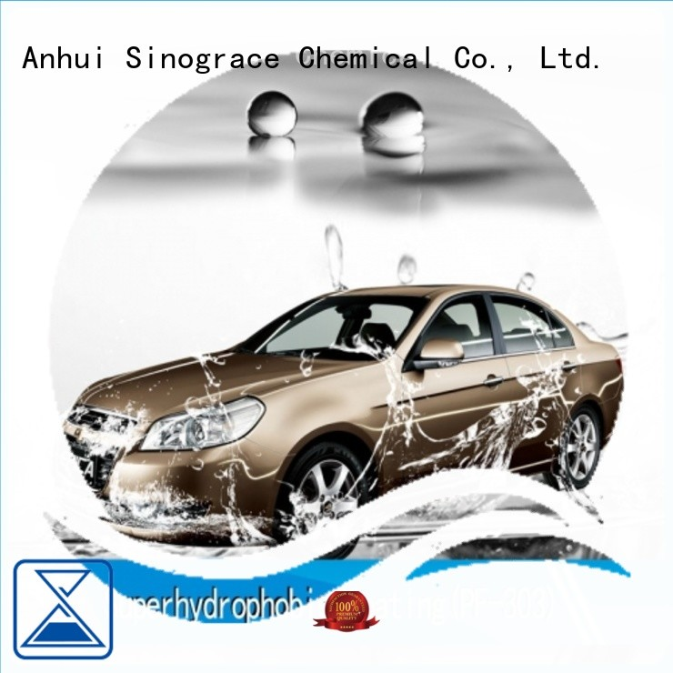 Sinograce Chemical hydrophobic 9h nano ceramic coating brand for car