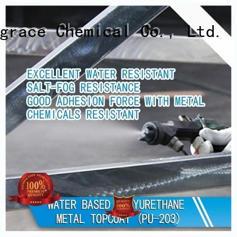 Sinograce Chemical metal topcoat factory for metal