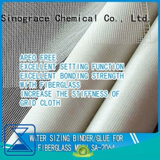 Sinograce Chemical water based wallpaper glue glue for textile