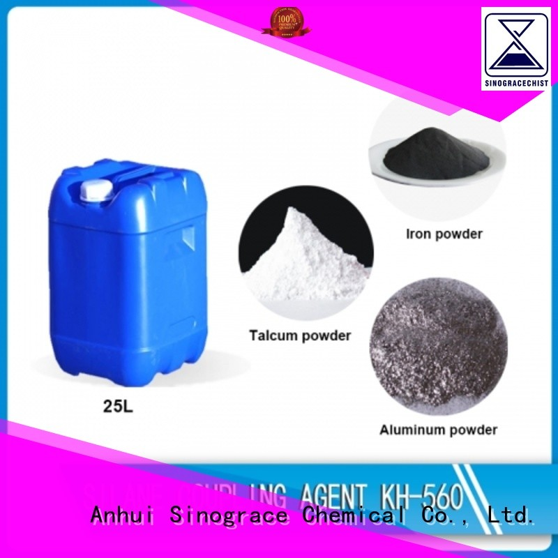 Sinograce Chemical epoxy vinyl silane coupling agent for sale for making