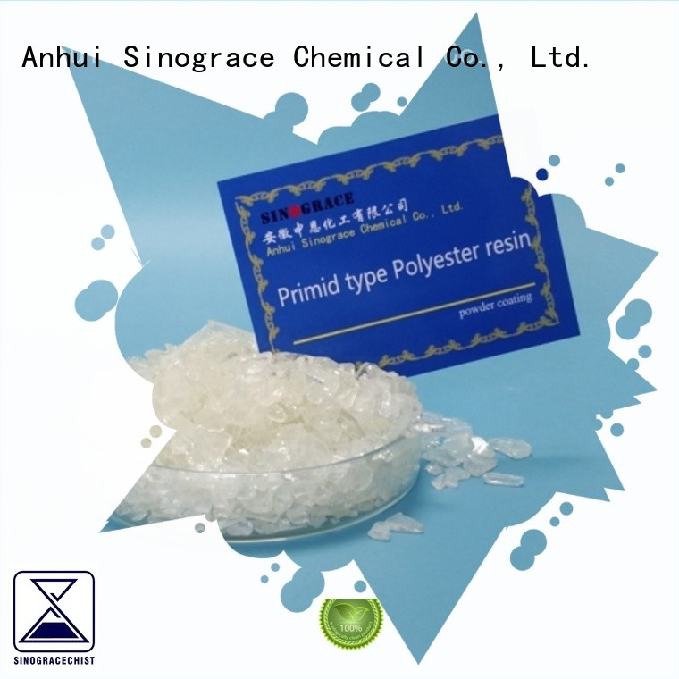 Sinograce Chemical acrylic modified polyester resin supplier for making
