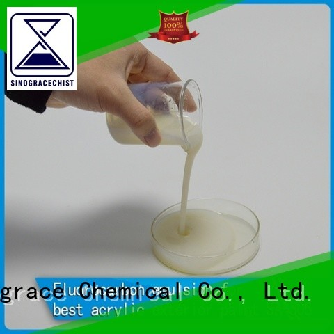 Sinograce Chemical waterproof emulsion suppliers For Primer