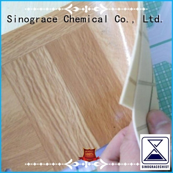 Sinograce Chemical non toxic water based leather glue binder for footwear