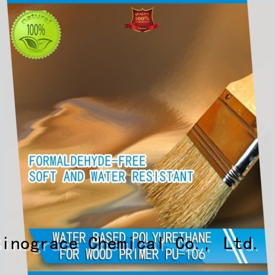 Sinograce Chemical best water based polyurethane for wood floors supplier for wood floors