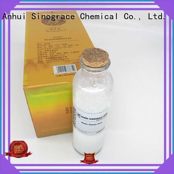 Sinograce Chemical acrylic glue for sale for material
