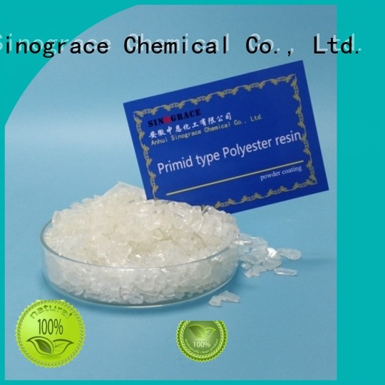 Sinograce Chemical clear polyester resin adhesive for making