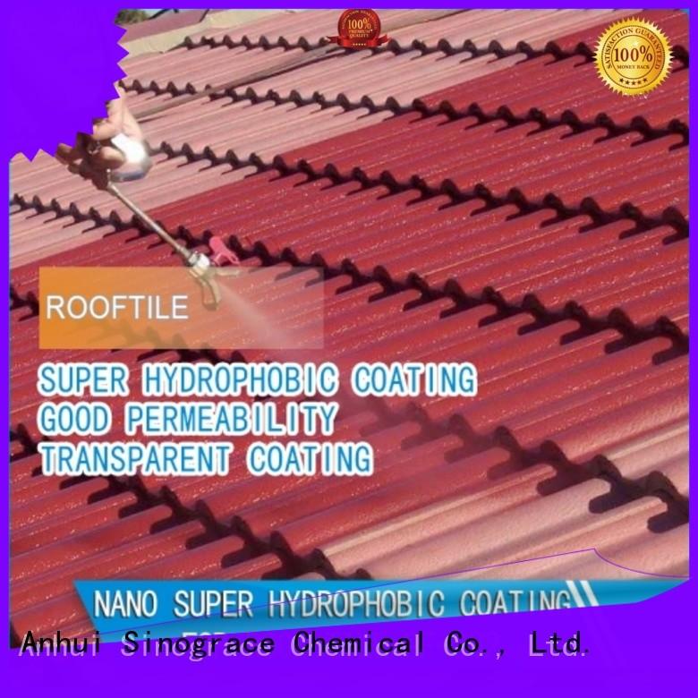 Sinograce Chemical nano ceramic coating price for building