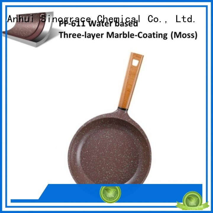 Sinograce Chemical best non stick coating for cookware supplier for cooking