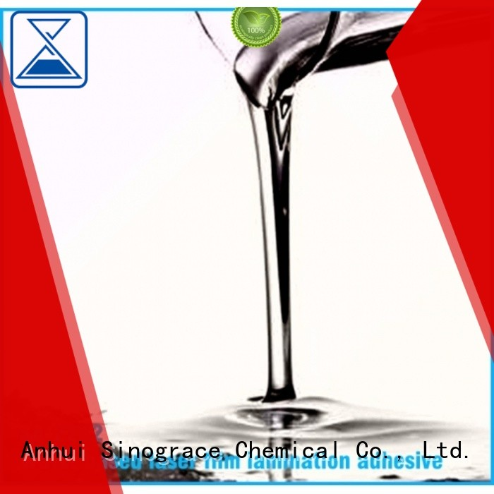 Sinograce Chemical acrylic sheet glue for sale for chemical