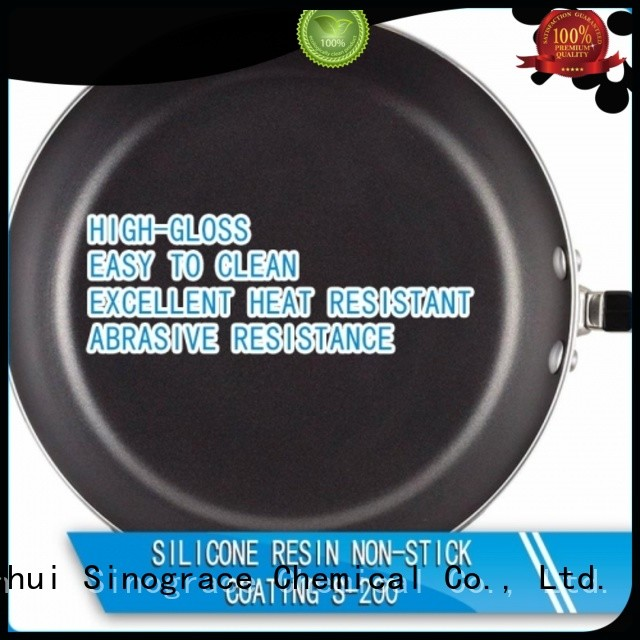 Sinograce Chemical silicone coating for metal manufacturers for cookware