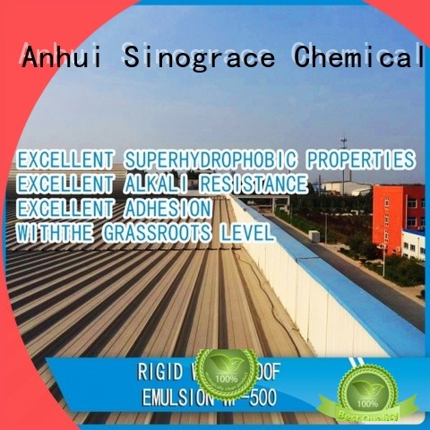 Sinograce Chemical waterproof coatings for sale for making