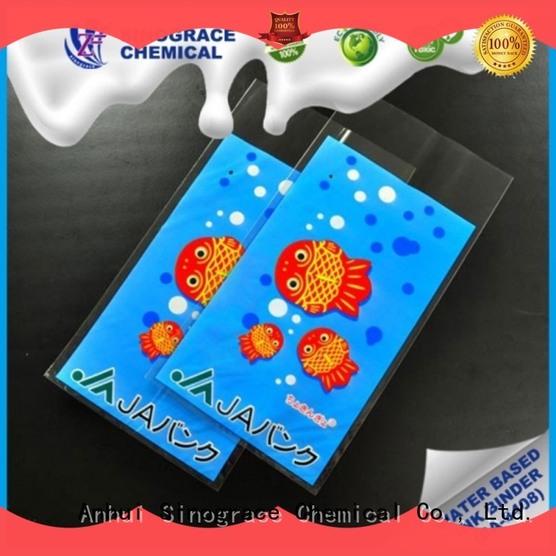 Sinograce Chemical eco-friendly Film ink binder for sale for chemical