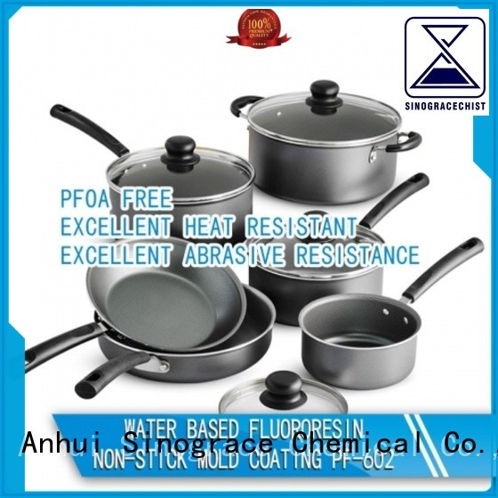 Sinograce Chemical non stick ceramic non stick coating for sale for cooking