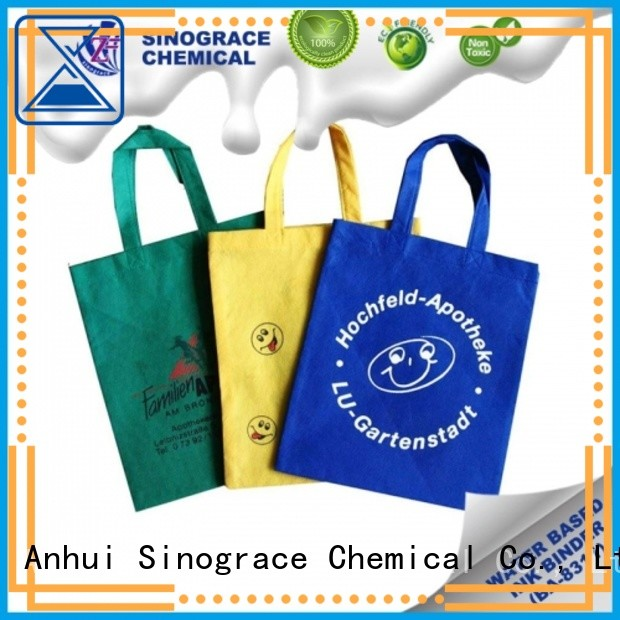Sinograce Chemical eco-friendly Textile printing ink for sale For nylon Ink