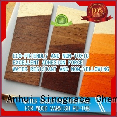 Sinograce Chemical eco-friendly water based polyurethane for floors manufacturer for floors