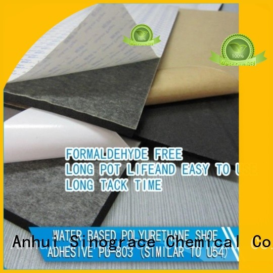 Sinograce Chemical non toxic water based paint for wood binder for footwear