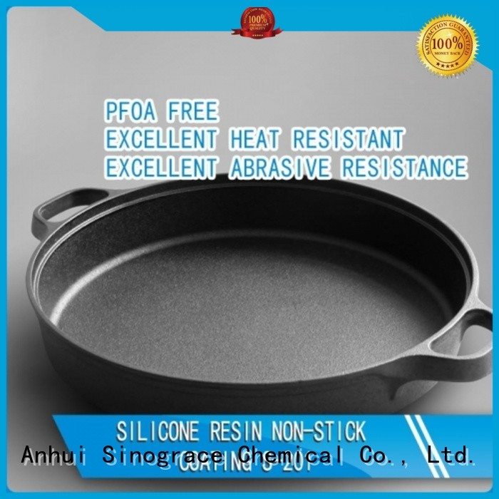 Sinograce Chemical non toxic silicone coating factory for metal