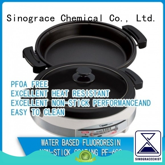 Sinograce Chemical ceramic non stick coating manufacturer for cooking
