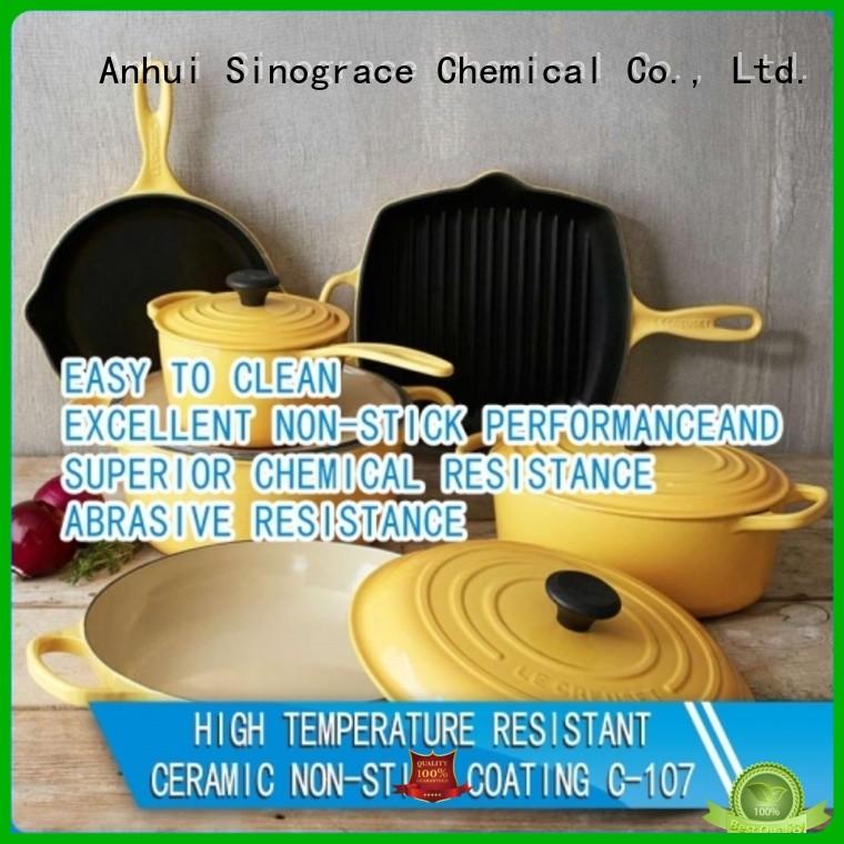 Sinograce Chemical high temp ceramic coating price for material
