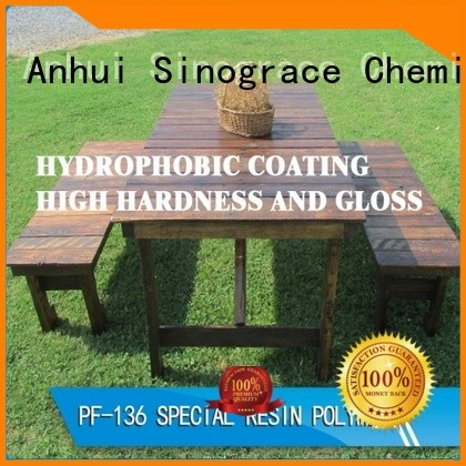 Sinograce Chemical clear styrene acrylates copolymer price for material
