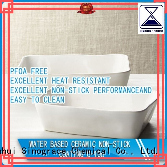 Sinograce Chemical high temp ceramic coating supplier for making