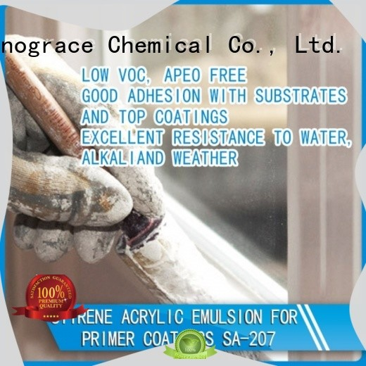 Sinograce Chemical waterproof emulsion manufacturers For Primer