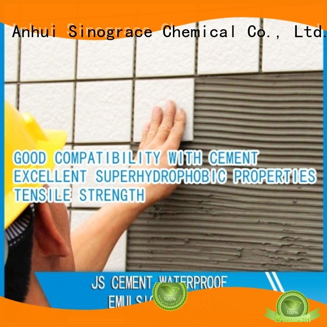 Sinograce Chemical eco-friendly Rigid Waterproof Emulsion brand for chemical