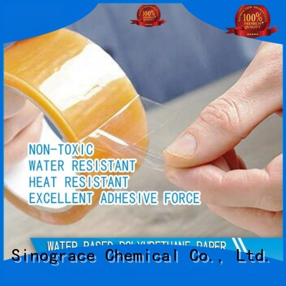 Sinograce Chemical lamination adhesive tape for textile