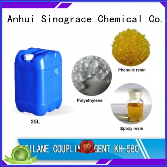 Sinograce Chemical aluminate amino silane coupling agent manufacturer for pvc