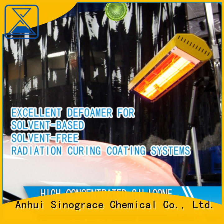 Sinograce Chemical non toxic defoamer supplier for oil