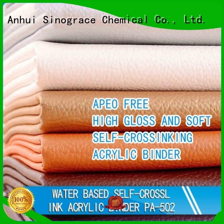 Sinograce Chemical non toxic styrene acrylic binder brand for paints