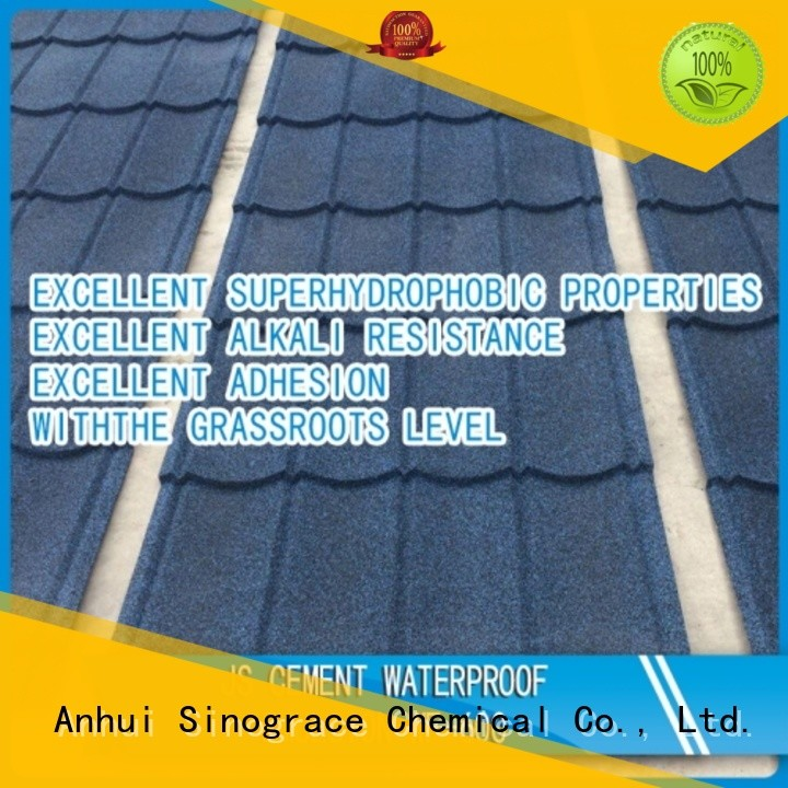 Sinograce Chemical non toxic waterproof emulsion paint for sale for making