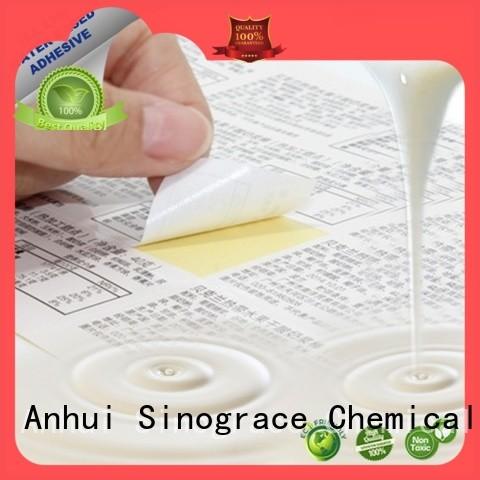 Sinograce Chemical aluminized pressure sensitive adhesive chemistry supplier for carpet