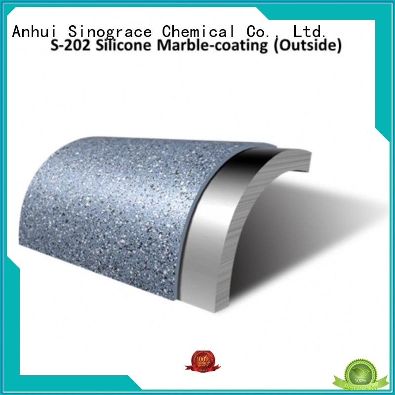 Sinograce Chemical waterproof silicone coating manufacturers for metal