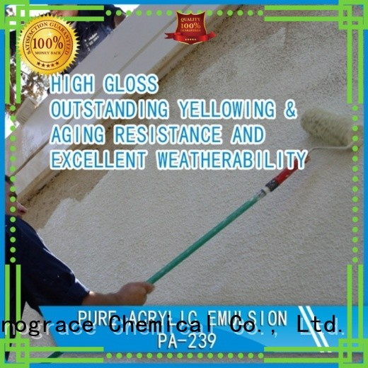 Sinograce Chemical waterproof Modified silicone acrylic emulsion for wall manufacturers for chemical