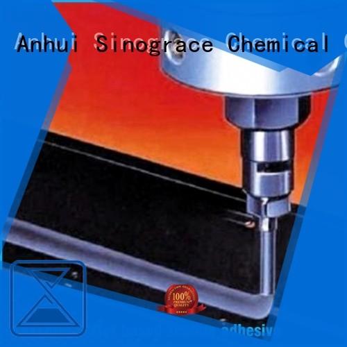 Sinograce Chemical non toxic laminating adhesive price for making