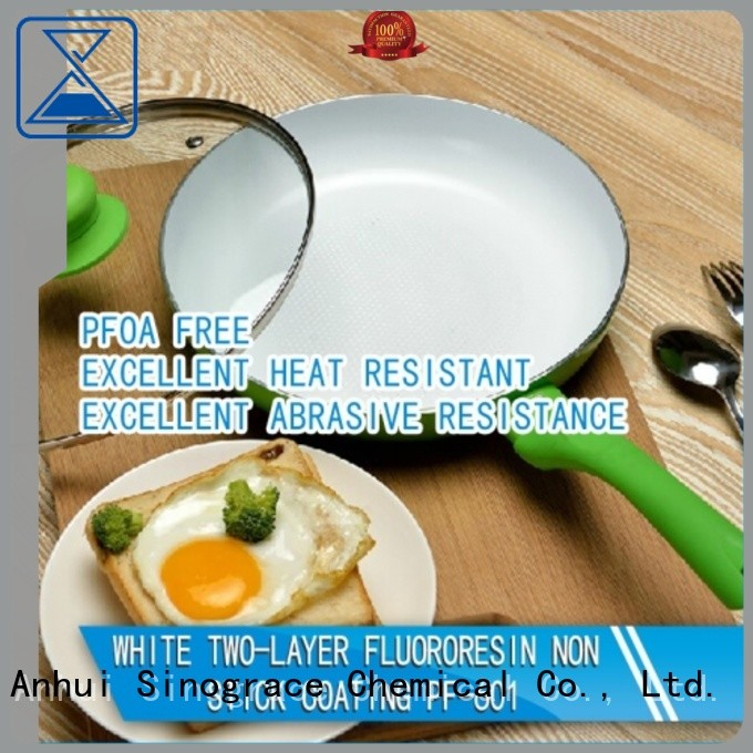 Sinograce Chemical ceramic ceramic non stick coating for sale for cookware
