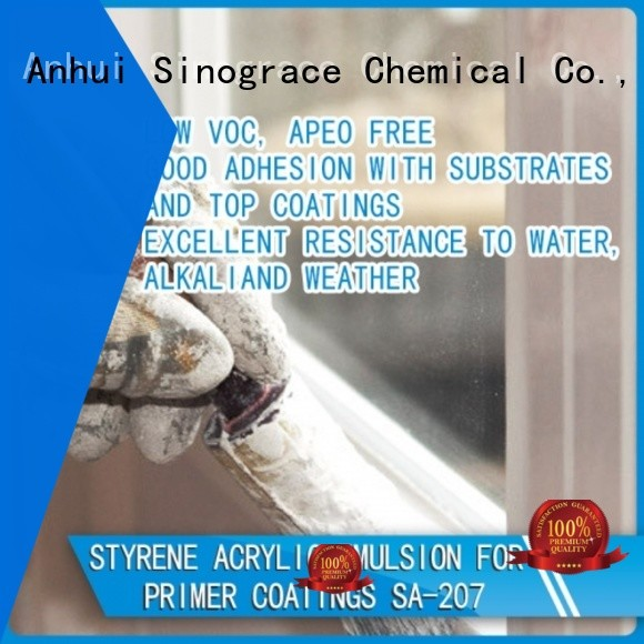 Sinograce Chemical architectural coatings factory for wall