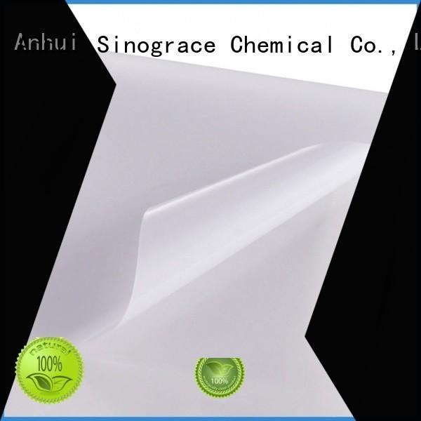 Sinograce Chemical aluminized clear acrylic adhesive for glue