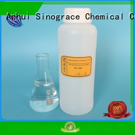 Sinograce Chemical heavy duty remove rust from metal supplier for metal