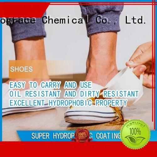 Sinograce Chemical eco-friendly nano paint coating for sale for boots