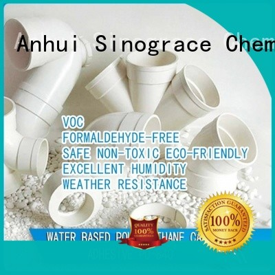 Sinograce Chemical water based glue glue for textile