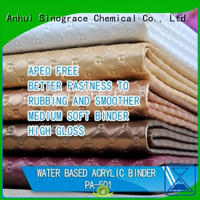 Sinograce Chemical non toxic acrylic acid polymers brand for material