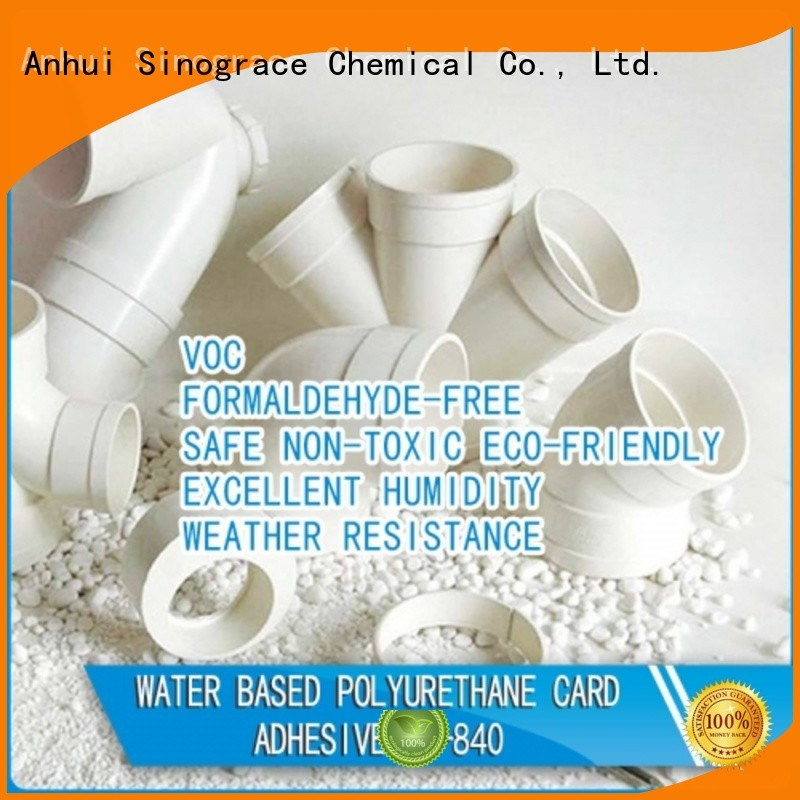 Sinograce Chemical non toxic water based leather glue glue for textile